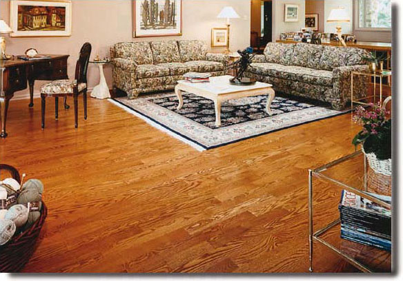 A Mirage Red Oak Floor