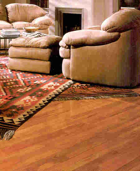 A Tiete Rosewood Exotic Hardwood Floor